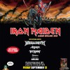 Tour | Iron Maiden – Maiden England 2013 US Tour (Megadeth, Anthrax, Overkill, Sabaton)