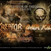 New Tour | Kreator w/ Overkill and Warbringer – Legends of Thrash 2013