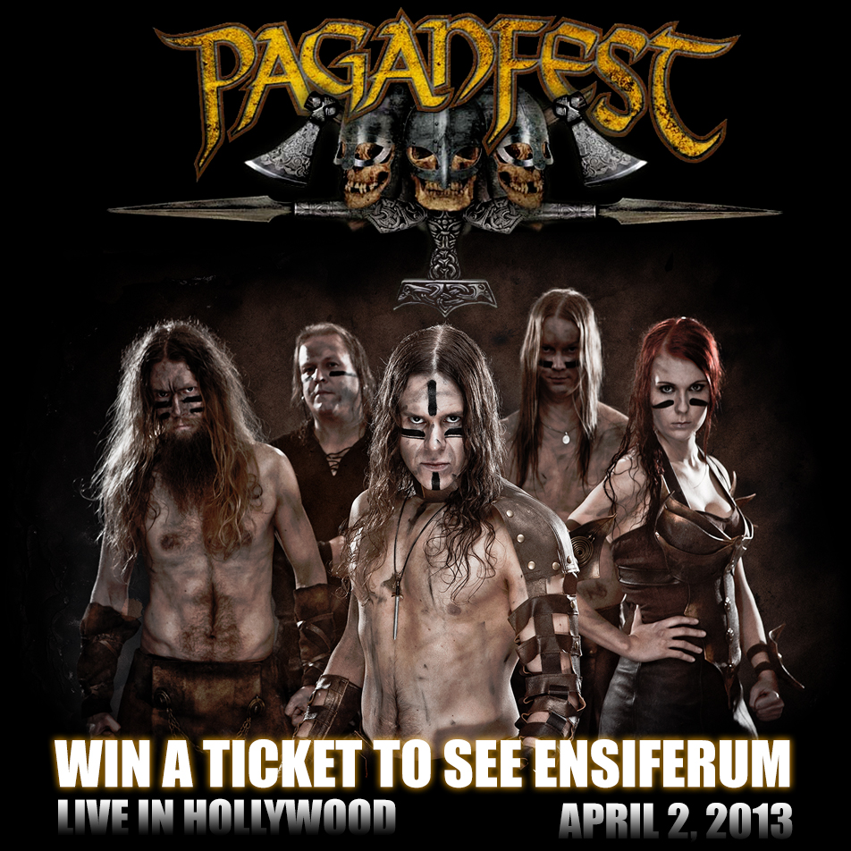Contest | Win A Ticket for Paganfest IV in Hollywood! | Der Metal